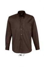 CAMISA HOMBRE ML BEL-AIR CHOCOLATE T-3XL
