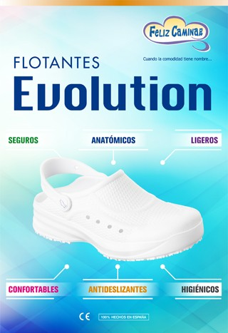 ZUECO SANITARIO FLOTANTE EVOLUTION